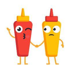 Ketchup senf